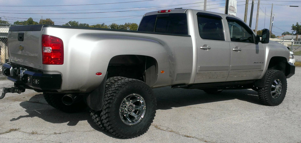 2008 Chevy 3500 Hankook Dually Tires Performance Truck